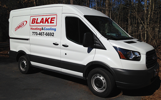 contact blake heating and cooling